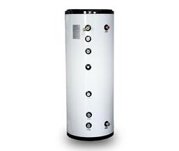 单盘管换热水箱如何换热水的?